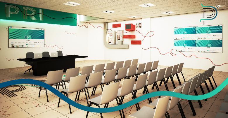 Sala conferenze della sede di via Galcianese