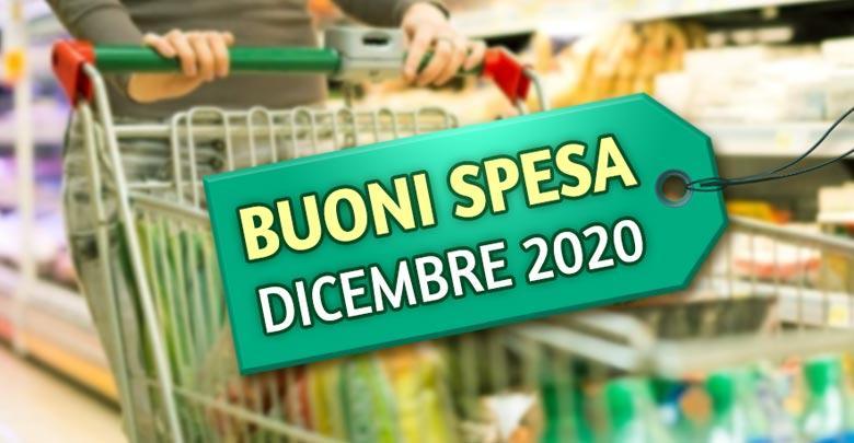 Buoni spesa emergenza Covid-19 - dicembre 2020