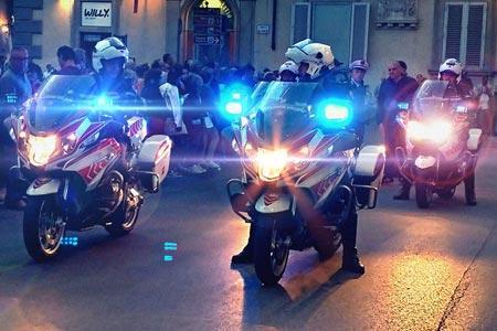 Servizi di viabilità e scorta della Polizia Municipale