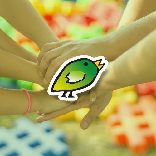 Giocacipì verde