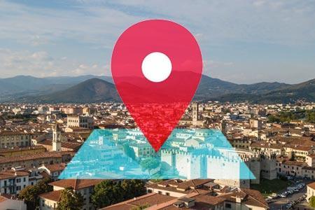 Mappa di Prato