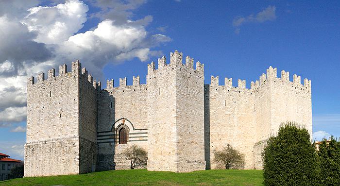 Castello dell'Imperatore nel centro di Prato