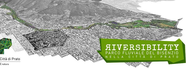 Riversibility: il parco fluviale sul Bisenzio nella città di Prato